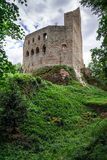 Medieval castle Spesbourg in Alsace Stock Image