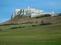Medieval Castle. Medieval Spis Castle in Slovakia royalty free stock images