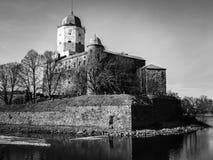 Medieval Castle of St. Olav in Vyborg Royalty Free Stock Image