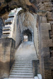 Medieval castle stairway Royalty Free Stock Photography