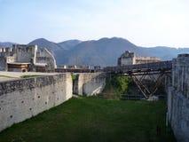Medieval castle Stari Grad in Celje in Slovenia Royalty Free Stock Photo