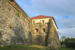 Medieval castle stone wall Royalty Free Stock Photography