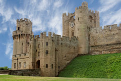 Medieval castle stronghold Stock Images