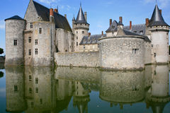 Medieval castle Sully-sur-loire, France Stock Photo