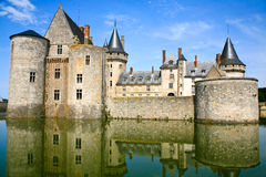 Medieval castle Sully-sur-loire, France Royalty Free Stock Photo