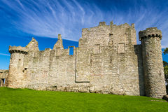 Medieval castle in summer Stock Photo