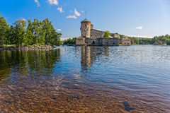 Medieval castle at summer Royalty Free Stock Photos