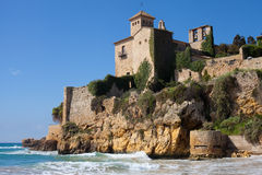 Medieval castle of Tamarit Royalty Free Stock Image