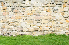 Medieval castle texture Stock Images