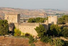 Medieval castle in Toledo Stock Image