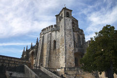 Medieval castle in Tomar Royalty Free Stock Photo