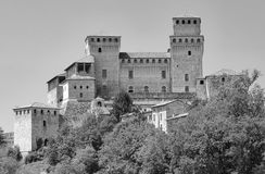 Castle of Torrechiara Parma, Italy Royalty Free Stock Images