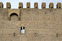 Medieval Castle of Torroella de Montgri. On the top of a mountain in Girona, Costa Brava Stock Images