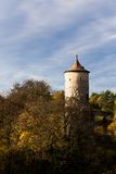 Medieval castle tower Royalty Free Stock Image