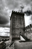 Medieval castle tower Royalty Free Stock Photography