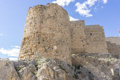 medieval castle town of Consuegra in Toledo, Spain Royalty Free Stock Photo