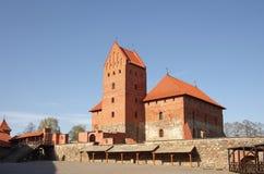 Medieval castle in Trakai Stock Photo