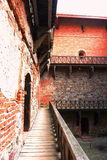 Medieval castle in Trakai, the first capital city of Lithuania. Royalty Free Stock Photography
