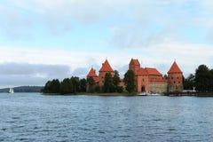 Medieval castle in Trakai Royalty Free Stock Photo