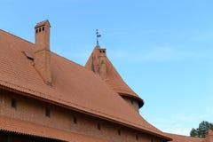 Medieval castle in Trakai Stock Image