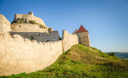 MEdieval castle in Transylvania Stock Photo