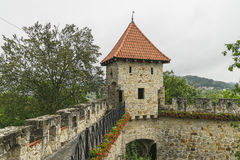 Medieval castle Tropsztyn in Poland Royalty Free Stock Photo