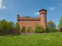 Medieval Castle Turin Stock Images