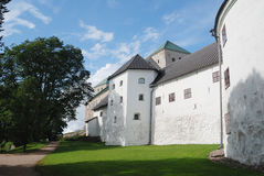 The medieval castle in Turku, Finland Stock Images