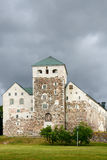 Medieval castle in Turku Royalty Free Stock Image