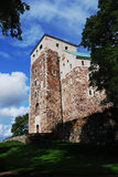Medieval castle in Turku, Finland Royalty Free Stock Photos