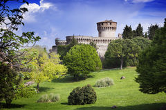 Medieval castle in Tuscany Royalty Free Stock Photos