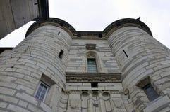 Medieval castle Vincennes stock images