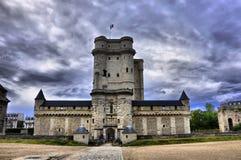 Medieval castle Vincennes HDR stock image