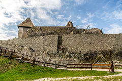 Medieval castle Visegrad in Hungary Stock Images