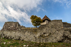 Medieval castle Visegrad in Hungary royalty free stock image