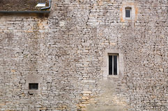 Medieval castle wall Royalty Free Stock Images