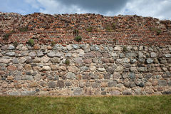Medieval Castle Wall Background Royalty Free Stock Photos