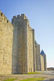 Medieval castle walls Royalty Free Stock Photo