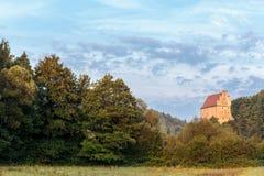 Medieval Castle Wisentfels Stock Images