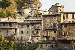 Medieval Catalan village, Spain Royalty Free Stock Photography