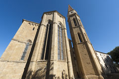 Medieval cathedral in Arezzo (Tuscany) Royalty Free Stock Images
