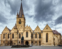 Medieval cathedral Royalty Free Stock Image