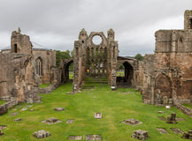 Medieval Cathedral of Elgin Stock Image