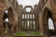 Medieval Cathedral of Elgin Stock Photo