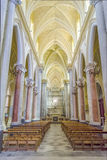 Medieval Cathedral of Erice, Sicily Stock Image
