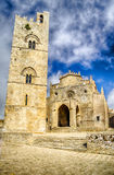 Medieval Cathedral of Erice, Sicily Royalty Free Stock Photography