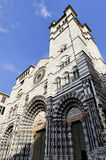 Medieval Cathedral of Genova Stock Photos