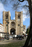 Medieval Cathedral. Lisbon. Portugal Royalty Free Stock Photo