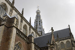 Medieval cathedral in the Netherlands Stock Photo