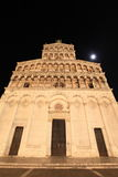 Medieval cathedral at night Stock Photos